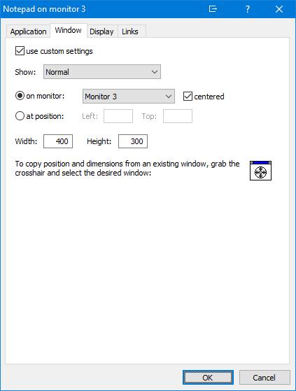 UltraMon Features - Shortcuts